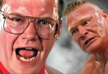 Jim Cornette shares the story of the time he threatened Brock Lesnar during Lesnar's OVW days.