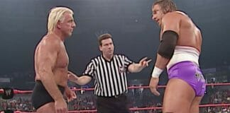 The showdown between Ric Flair and Triple H on May 19, 2003's edition of Monday Night Raw was one of the best one-day storylines in the history of the business.