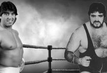 Rick Martel and his brother, Michel Martel.