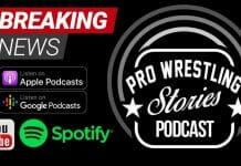 """Pro Wrestling Stories launches new podcast, """"The Pro Wrestling Stories Podcast"""" hosted by Chris Toplack and Cory Rivard."""