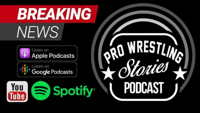 The Pro Wrestling Stories Podcast Launches | Stream First 3 Episodes!