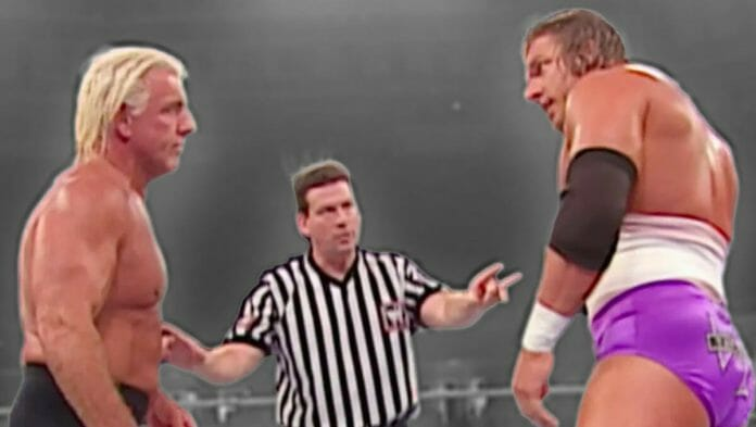 The Ric Flair and Triple H storyline on May 19, 2003's edition of WWE Monday Night Raw was one of the best one-day storylines in the history of the business.