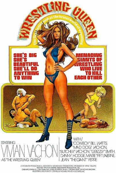 Wrestling Documentaries - Wrestling Queen (1973) poster