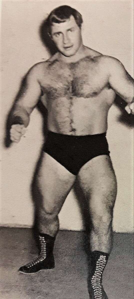 Eddie Sharkey after the carnival circuit began his pro wrestling career in 1961 for Verne Gagne's AWA.