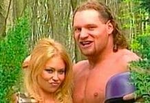 Adult film star Jenna Jameson and Val Venis film together in 1998.