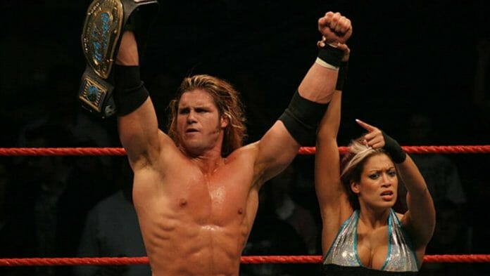 John Morrison (then known as Johnny Nitro) with Melina. WWE SummerSlam Tour, Melbourne, Australia, August 5th, 2006.