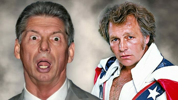 Over twenty years before the steroid trial and Monday Night Wars, Vince McMahon went bankrupt... with Evel Knievel!