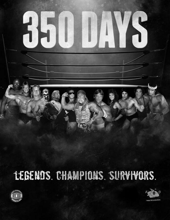 Thanks to the excellent work Evan Ginzburg did on The Wrestler, he also became an Associate Producer for the wrestling documentary 350 Days: The Movie.
