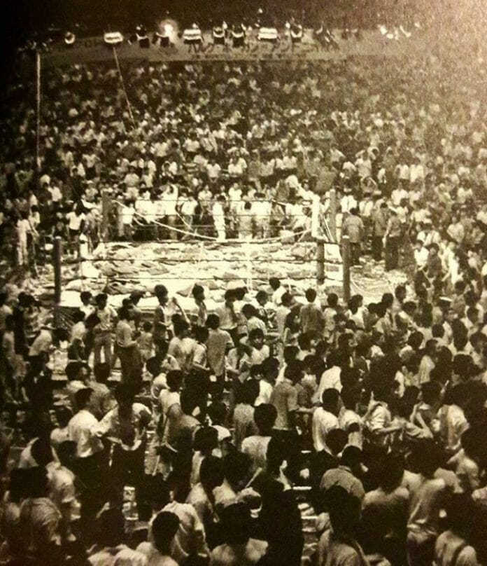 On December 27th, 1987, the fans at Sumo Hall were overall displeased with the show, but the drumming of Antonio Inoki at the hands of Big Van Vader seemed to be the catalyst of the riot that ensued.