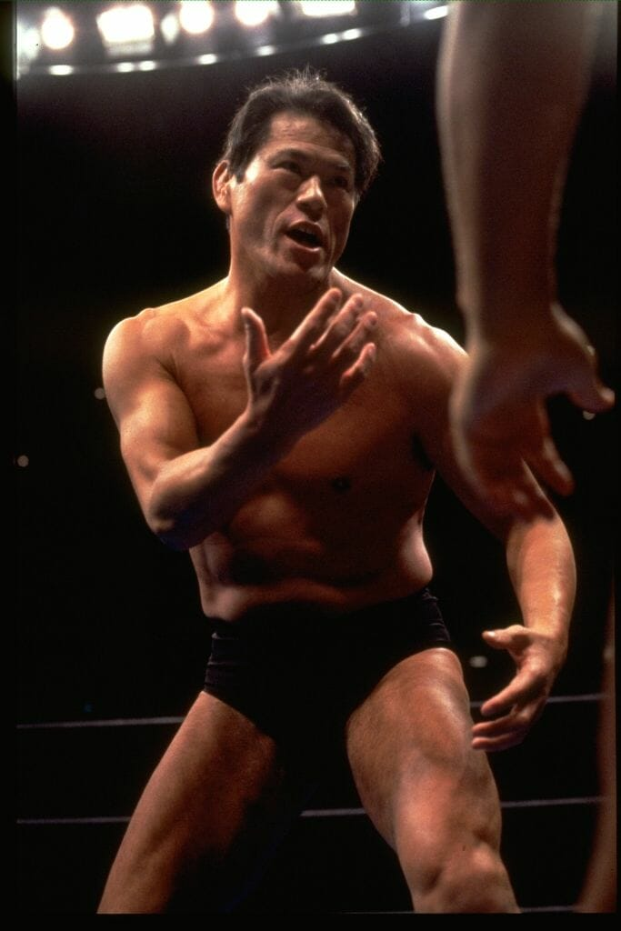 Antonio Inoki took on all comers while the owner of NJPW, but how would he fare against the monstrous Big Van Vader?