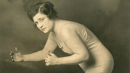 Cora Livingston joined the circus at age 16, and competed in the early 1900s, until approximately 1920. She was the prototype of Mildred Burke and considered America's first great female wrestler.