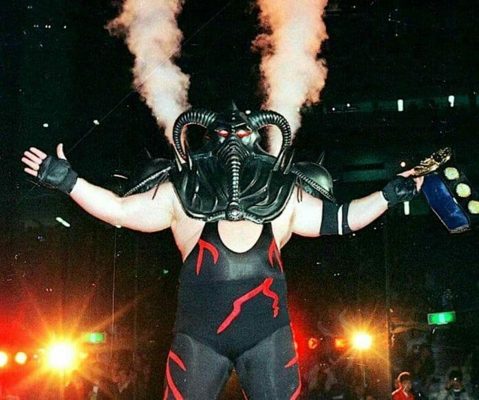 Big Van Vader and Antonio Inoki Incite a Riot in Sumo Hall