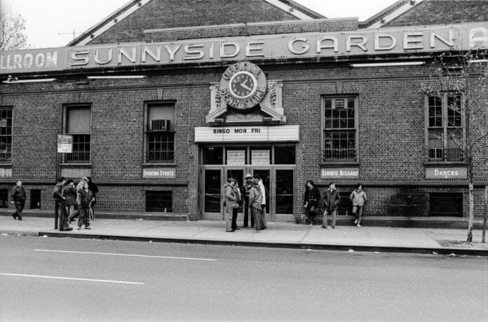 The now-demolished Sunnyside Garden Arena where the WWWF held many shows during its heyday.