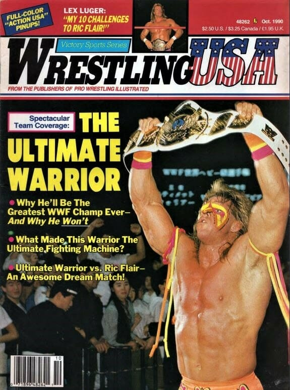 Where do you think The Ultimate Warrior places when speaking of the greatest Intercontinental Champions of all time?