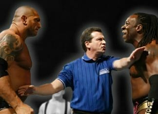 In the summer of 2016, things get heated between Batista and Booker T.