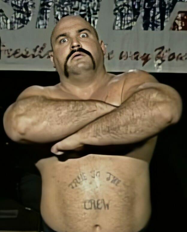 The ever-menacing Bruiser Bedlam in Smoky Mountain Wrestling.