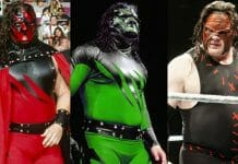 One of the secrets to any wrestler's longevity is to have the ability to evolve, and Kane is no exception to that rule. Throughout his time, the Devil's Favorite Demon has undergone more costume changes than a Lady Gaga concert, some subtle, some drastic, some for better and some for worse.