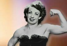 Professional wrestling trailblazer, Mildred Burke.