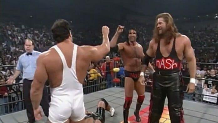 Scott Steiner turns on Rick, joins the nWo