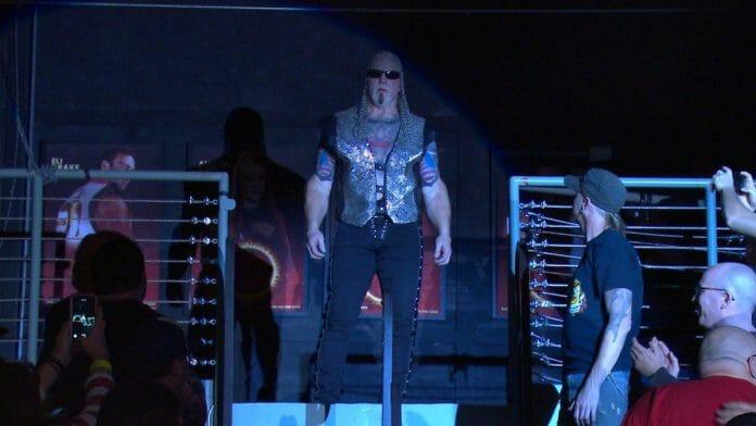 Scott Steiner arrives in the NWA, 2020