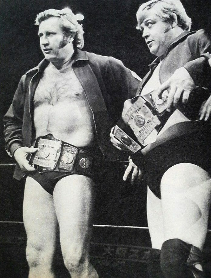 AWA Tag Team Champions, Nick Bockwinkel and Ray Stevens