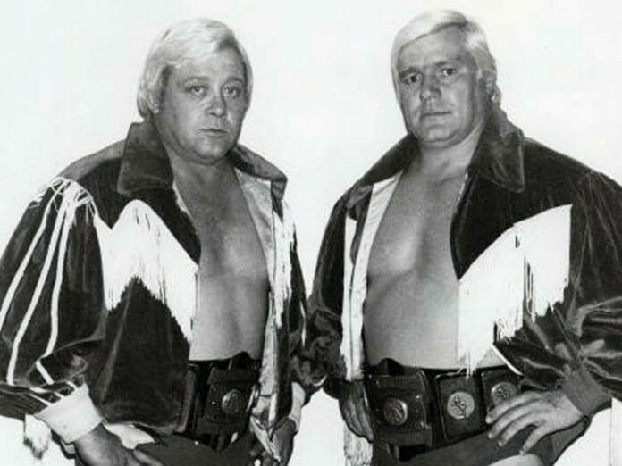 Crippler Ray Stevens and Pat Patterson - The Blond Bombers