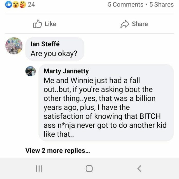 Marty Jannetty adds further info in a comment on his Facebook post from August 5, 2020.