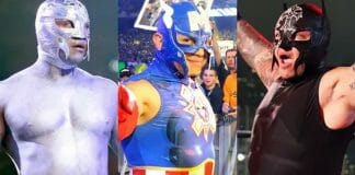 From Daredevil to Gene Simmons, The Flash to The Terminator, here is a look back at many nods Rey Mysterio has made to pop culture icons over the years!