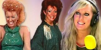 GLOW original Roxy Astor over the years.