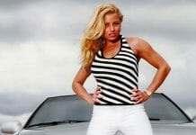 Trish Stratus had her share of interesting encounters on the road!