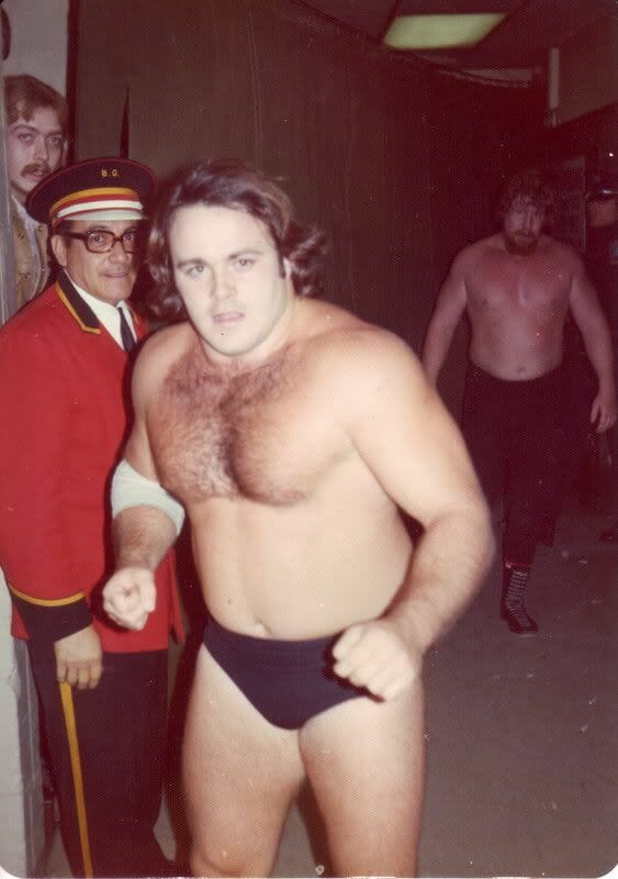 Kevin Sullivan making a name for himself during his early days in wrestling.