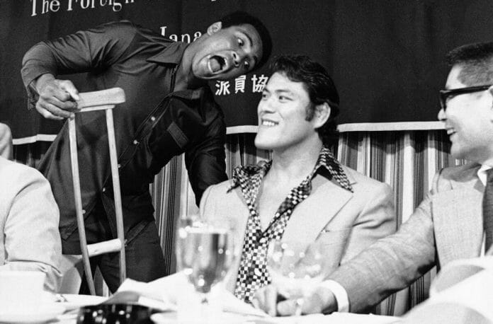 Muhammad Ali showed no fear and was his unreserved self at press conferences, but behind the scenes, many say he had concerns about being hurt by Antonio Inoki.
