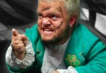 The prankster, Hornswoggle.