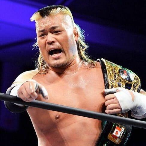Former NWA champ, Hiroyoshi Tenzan.