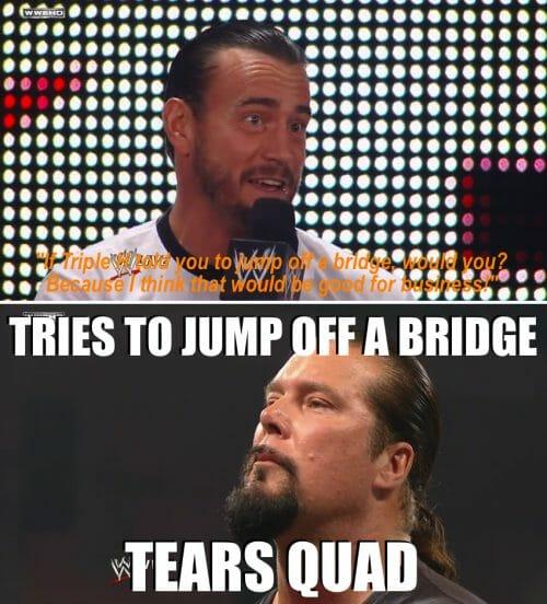 Kevin Nash torn quad meme