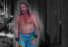 Jake Roberts makes his way to the ring at WCW Halloween Havoc 1992.