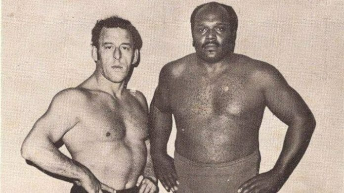 Southern Wrestling often took a back seat to other wrestling in the country, but Len Rossi and Bearcat Brown made the cover for the 1969 edition of Sport Review Wrestling.