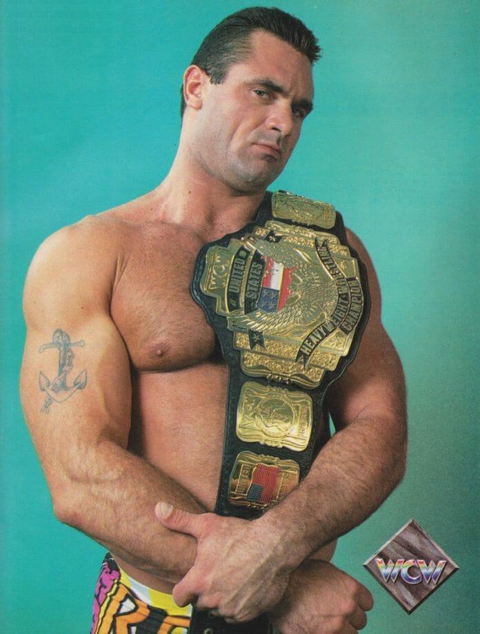 WCW United States Champion, Rick Rude.