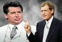 Vince McMahon was clearly unimpressed with some of David Letterman's questions.