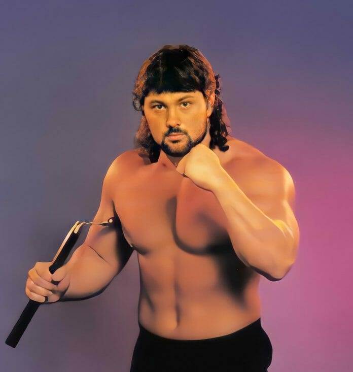 Steve Blackman in the early '90s.