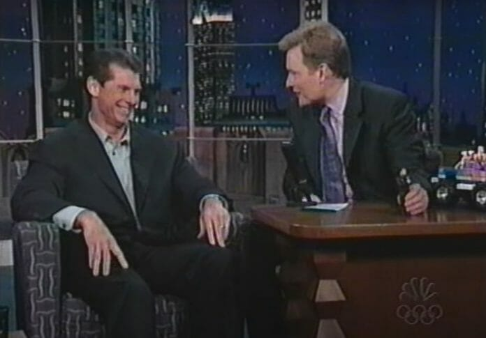 Conan O'Brien was respectful throughout his interview with Vince McMahon.