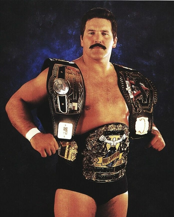 Multi-World Champ, Dan Severn.