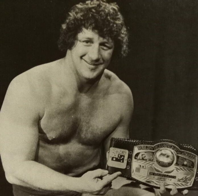 NWA World Heavyweight Champion, Terry Funk.
