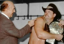 Stan Hansen refused to drop the AWA World Championship belt to Nick Bockwinkel, something he was ordered to do by Verne Gagne and the AWA.