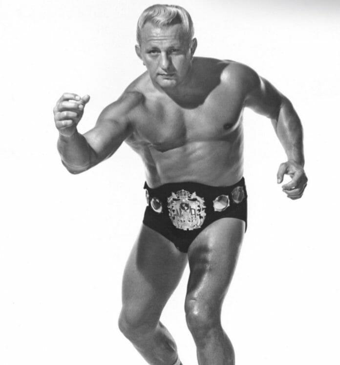 Buddy Rogers as NWA World Heavyweight Champion.