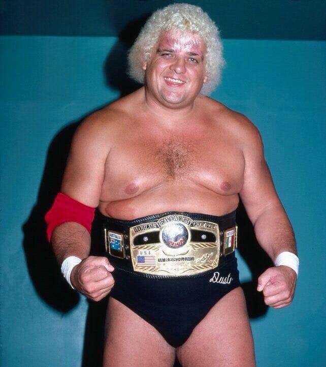 NWA World Heavyweight Champion, Dusty Rhodes.