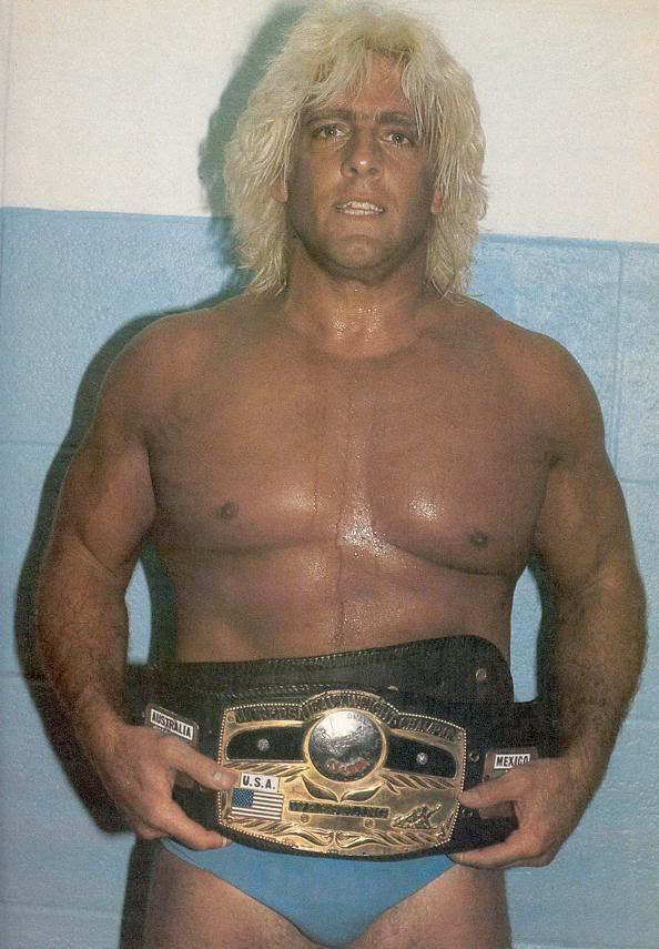 14-time NWA World Heavyweight Champion, Ric Flair.