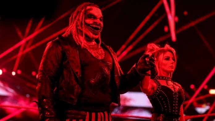 The paring of Bray Wyatt and Alexa Bliss borrows influence from Batman's The Joker and Harley Quinn.