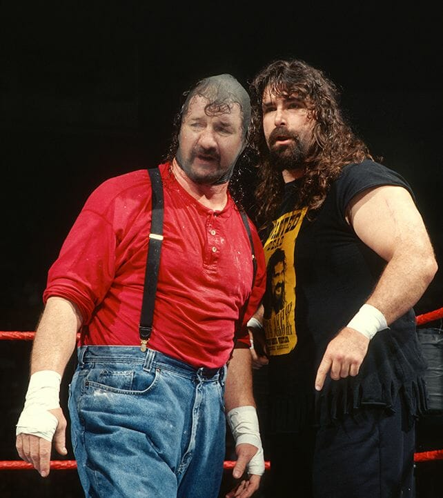 Chainsaw Charlie and Cactus Jack.