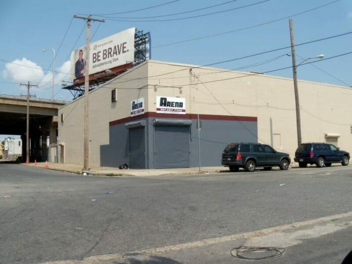 Image of the old ECW Arena in Philadelphia, Pennsylvania.